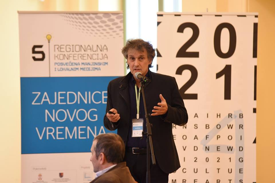 Program director of Novi Sad 2021, Momčilo Bajac