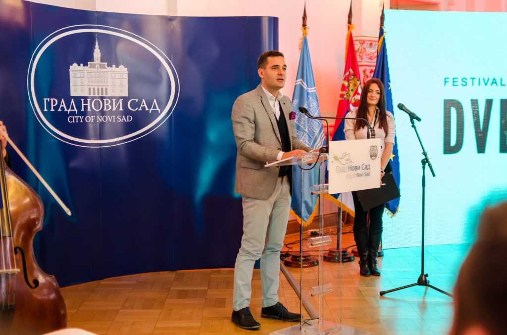 President of the Organizing Committee of Novi Sad 2021, Nemanja Milenković