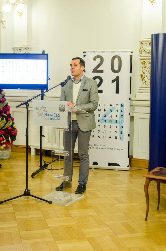 "President of the Organizing Committee of ""Novi Sad 2021"", Nemanja Milenković"