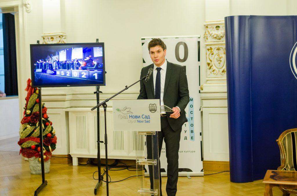 Executive Marketing Director of Mercator-S, Matija Protić