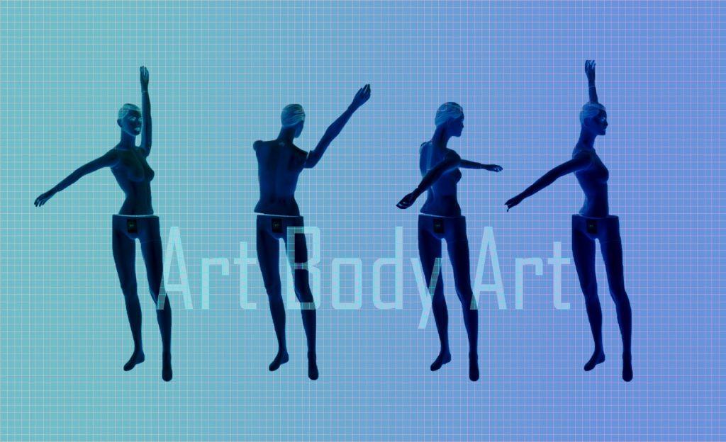 art body art - релације тела